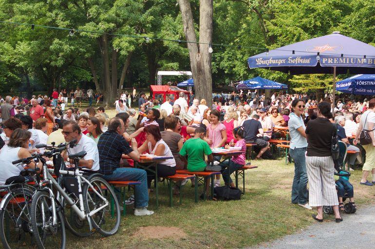 Ringparkfest im August in Würzburg