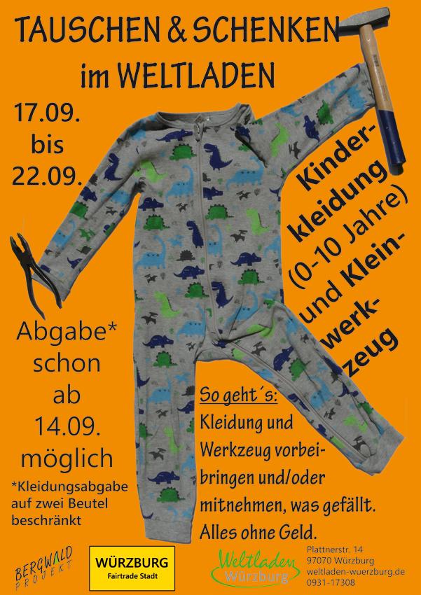 Bazar Tausch Kleider Weltladen