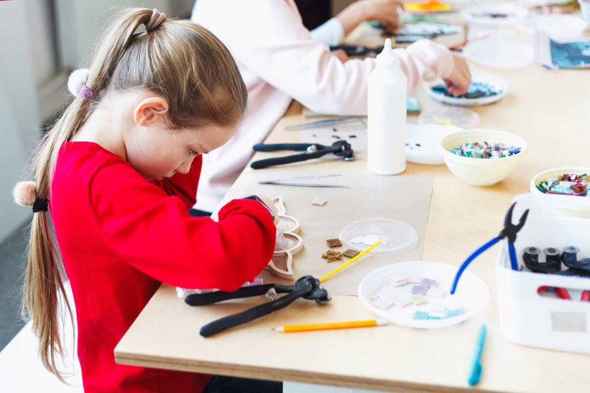 Mosaikworkshop für Kinder