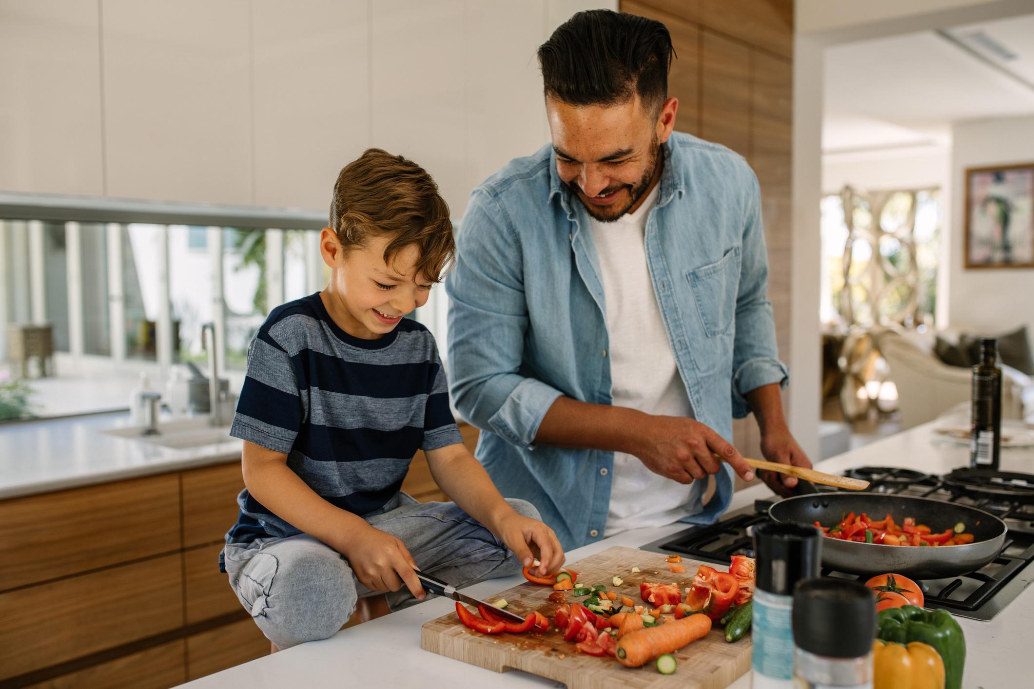 Familie kochen zusammen Würzburg